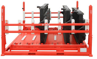 New Customizable Shipping Racks with Collapsible Side Design Reduces Space and Freight Costs