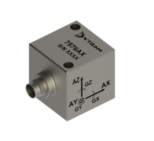 New Robust Analog 6DOF Vibration Accelerometer, Series 7576A