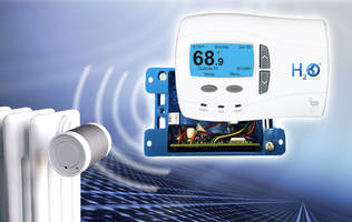 H2O Degree Integrates Energy-Harvesting Radiator Controls into Its Wireless Network Energy Submetering System