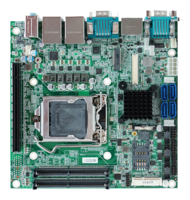 New MB-65040 Mini-ITX Motherboard Supports Intel Skylake-S CPU and Intel H110 Chipset