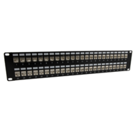New Ethernet Patch Panels from MilesTek are Ideal for LAN, Data Center, MDF/IDF and Gigabit Ethernet Patching Applications