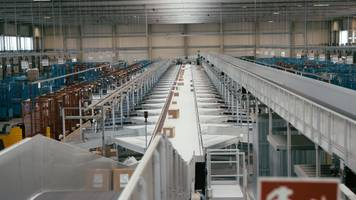 New HC Sliding Shoe Sorter Equipped With Single or Double-Sided Shoes