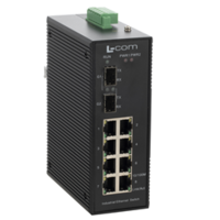 New Triple-Speed Ethernet Switches with 10/100/1000 and 1000FX SFP Ports