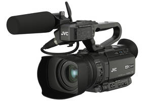 New GY-HM250 Camcorder Includes 1/2.3-inch BSI 4K CMOS Imager