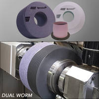 New Dual-Worm Grinding Wheels Enable Two Operations in One Grinding Wheel