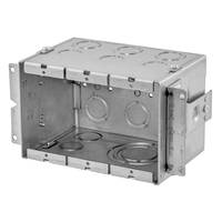 New Gangable Wall Boxes from RACO are Ideal for Data, Audio/Video and Power Applications