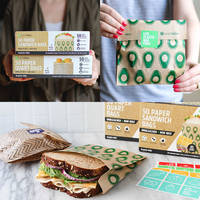 New Food Storage Bags Made from Kraft Paper
