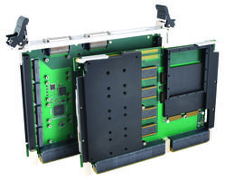 New VPX4520 and VPX4521 Provides Mezzanine Slots for 1 XMC and 4 Mini-Pcie
