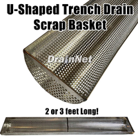 New U-Shaped Trench Drain Liner Available in 2 ft and 3 ft Lengths