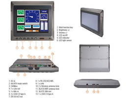 New GOT610-837 Vehicle-Mounted Touch Panel is Ideal for Logistics and Manufacturing Applications
