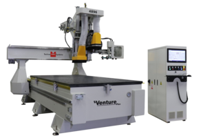 New Venture Plus Series CNC router is Ideal for Cabinet and Furniture Making Industries