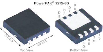 New Power MOSFET Features Low Gate Charge of 22.5 nC
