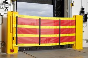Heavy Duty Barrier Meets Guardrail Walking-Working Surfaces Requirement