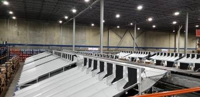 Interroll and Conveyor Handling Company Provide a Highly Efficient Shoe Sortation Solution in the US