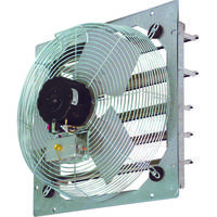 SEF Shutter Mount Wall Fan