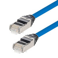 New Cat 6 and Cat 6a Ethernet Patch Cables are Ideal for High Density Patching Applications
