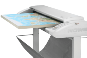 New Scan 850i Wide Format Scanner from ROWE Able to scan up to 1.10 in. Thickness