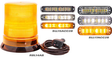 New Multifunction LED Warning and Beacon Lamps Operate in Harsh and Demanding Environments