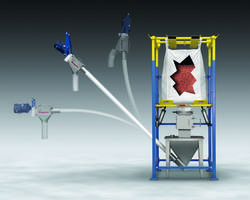 New Garnet Delivery System with Manual Dumping Bags Weighs 40 to 100 lb