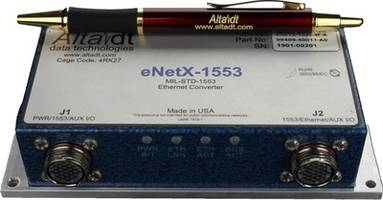 New 3-4 Channel MIL-STD-1553 Ethernet Converter Offers 1553 Channel Count