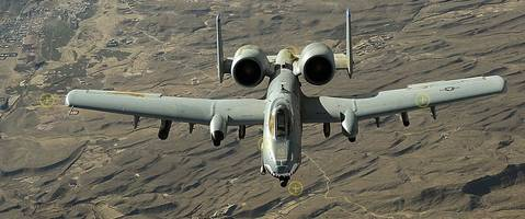 US Air Force Selects Boeing for A-10 Thunderbolt II Re-Winging Contract