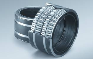 New Work Roll Bearings from NSK Reduces CO2 Emissions and Resource Consumption
