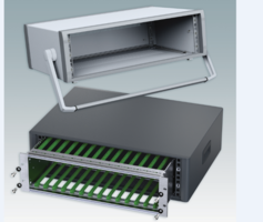 "New 19"" Enclosures and Cases for Desktop and Portable Instrumentation"
