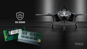 New XR-DIMM DRAM Module from Apacer is Ideal for Defense and Aeronautical Applications