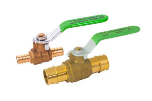 New Brass Ball Valves Feature Blow Out Proof Stems