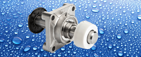 New Stainless-Steel Stand-Out Mounted Bearings Meet FSMA Sanitary Requirements