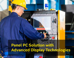Enhanced Industrial Touch Panel PC Ideal for Harsh Industrial Operating Environment