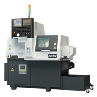 New Swiss-type Lathe Features High-Speed Built-In Motor Spindles