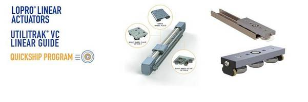 New Linear Actuators and Guides Suitable for Harsh and Debris-laden Environments
