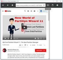 MiniTool to Publish a Free YouTube Downloader Program
