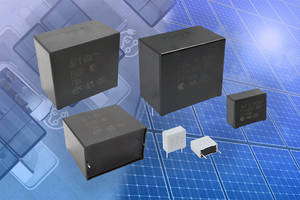 New X1, X2, and Y2 Capacitors Offer Lead Pitches of 15, 22.5, 27.5, 37.5 and 52.5 mm