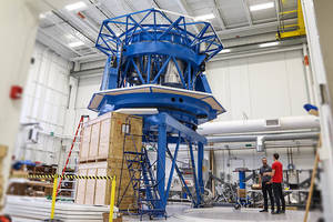 Telescope Fitted with DSTI Equipment Prepares for South Pole Journey