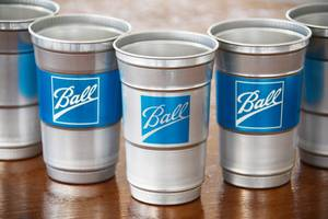 New Aluminum Cup Available in 20-ounce Size