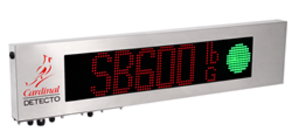 New SB600 Remote Display Offers 1,280 RGB High-intensity LEDs