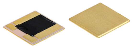 New Power Metal Plate Shunt Resistors Feature Operating Temperature Range of -65 to +170 degree C