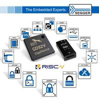 SEGGER: Full Support for First Flash-Based RISC-V Microcontroller