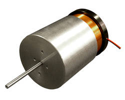 New Voice Coil Motor Includes Threaded Mounting Holes