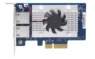 New QXG-10G2T-107 Network Expansion Card Provides Organizations 10GbE Network Connectivity