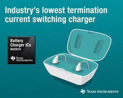 New Switching Battery Charger Offers 95% Efficiency at 4.6-V and 0.5-A Output