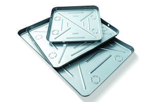 New Drain Pans Features 24-ga. Seamless, One-Piece Galvanized Metal Construction