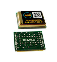 New OpenIMU330 Inertial Measurement Unit Powered by ARM M4 CPU with Floating Point Unit