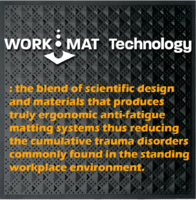 New Matta Safety Surfacing Provides Safe and Ergonomic Standing Work Surface