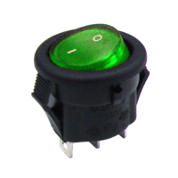 New Power Rocker Switches Available in SPST, DPDT, SPDT and ON/OFF/ON Configurations