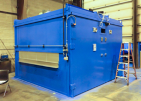 Wisconsin Oven Ships One Natural Gas Fired Conveyor Oven to the Automation Industry