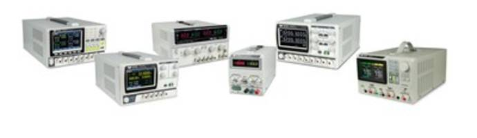 New Electronic Loads and DC Power Supplies for Electronics Test Engineering Bench