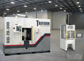 New Servo-electric and Sheet Hydroforming Press Features Intuitive Controls, Recipe Handling and Data Acquisition